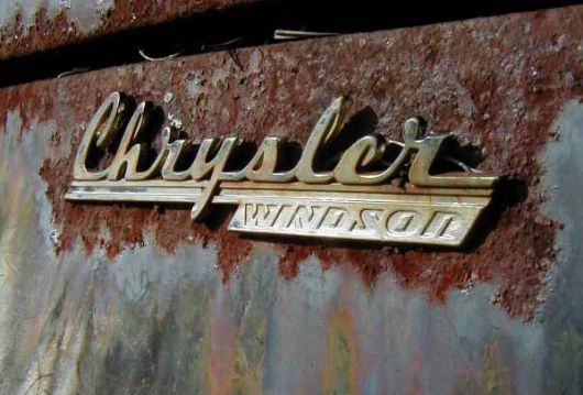 chrysler windsor emblem