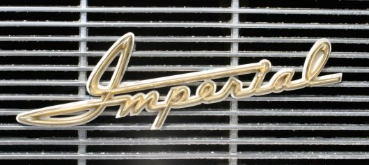 imperial emblem chrysler sm 60