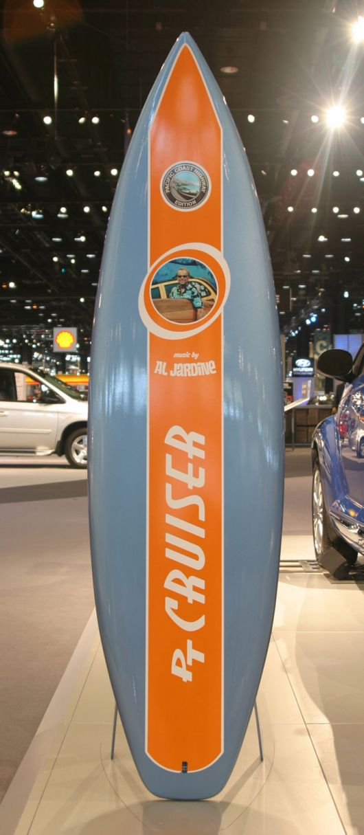 pt cruiser surfboard 07as