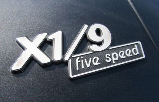 fiat x1 9 five speed emblem 79