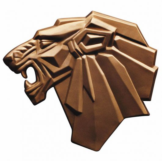 peugeot lion plaque 1971