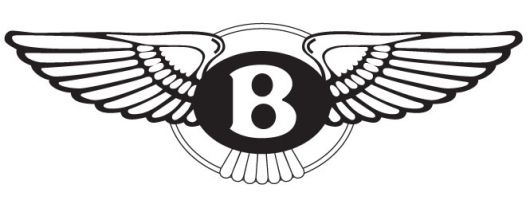 bentley logo bw