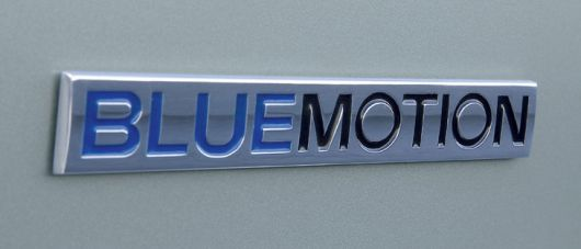 vw bluemotion emblem