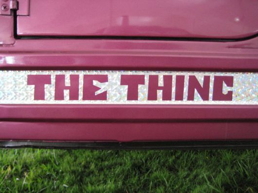 vw the thing decal 2