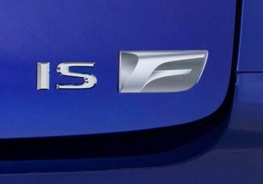 lexus is f emblem 08