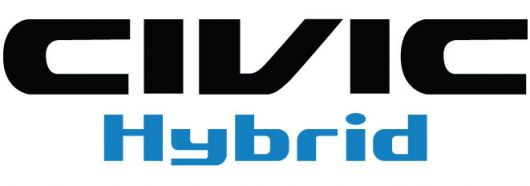 civic hybrid logo