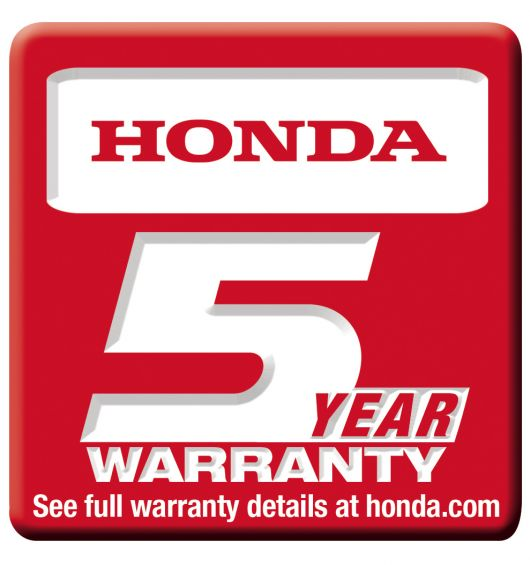 honda 5year warranty logo