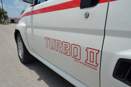 honda city turbo ii with intercooler decal 86