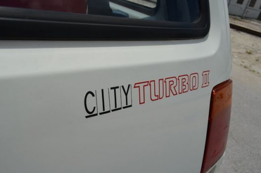 honda city turbo ii decal 86
