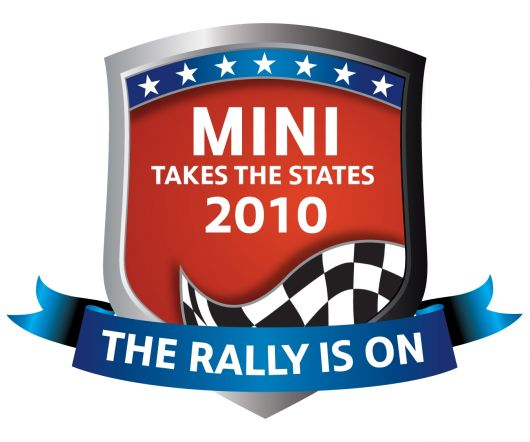 mini 2010 rally logo