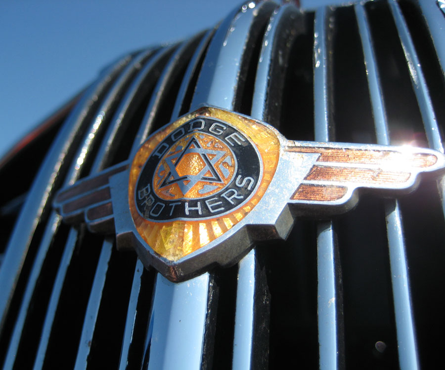 Dodge brothers front grill emblem from a 1937 pickup