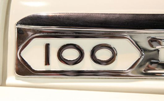 100 dodge sweptside pickup emblem 58