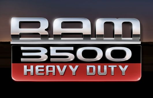Dodge Ram 3500 Heavy Duty Chassiscab Logo Sm