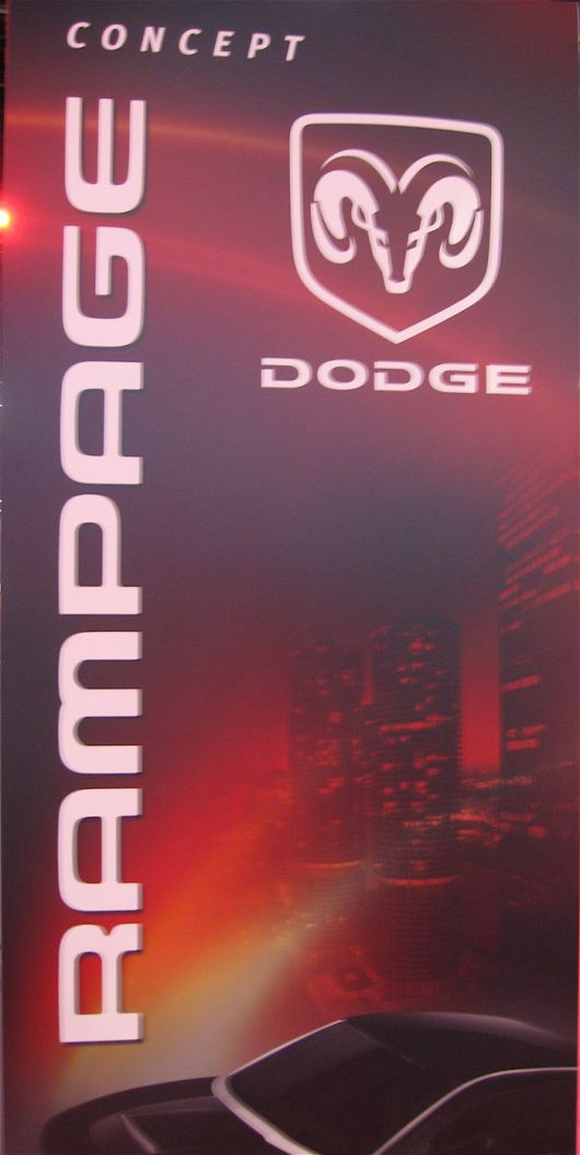 dodge rampage concept sign 07as