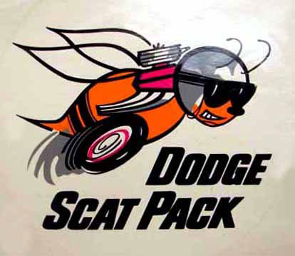 dodge scat pack decal