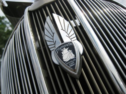 plymouth p2 deluxe grill emblem 2 36
