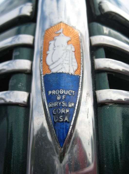 pymouth business coupe grill emblem 40