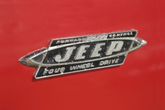 1963 willys jeep fc 170 emblem