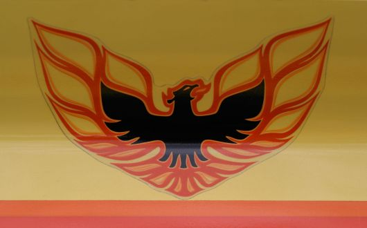 eagle decal pontiac firebird formula s 76