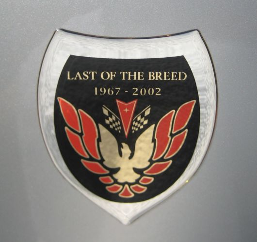 last of the breed 67 02 emblem pontiac formula 02 b