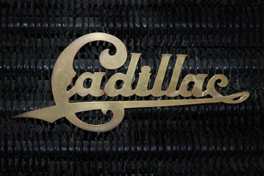 cadillac radiator emble