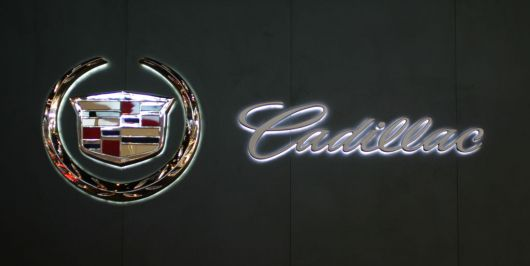 cadillac sign 07as