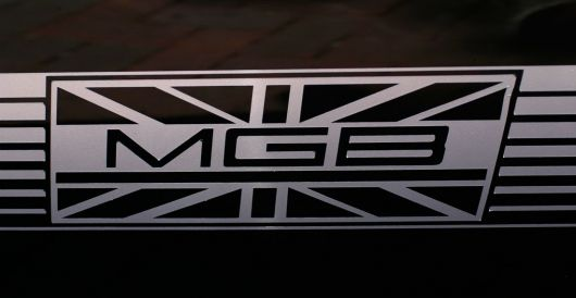 mgb side decal mg s 80