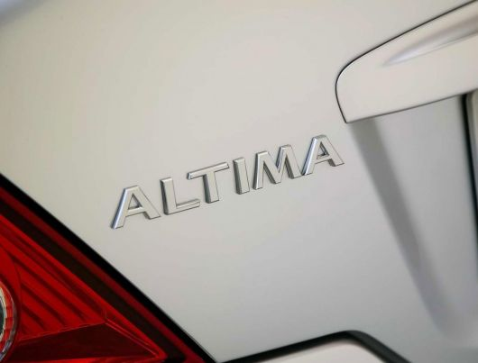 nissan altima coupe trunk emblem 08