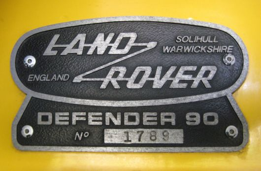 land rover defender 90 emblem 1