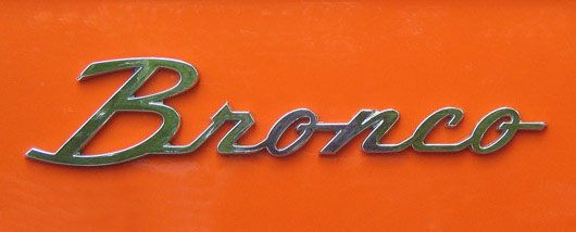 bronco ford