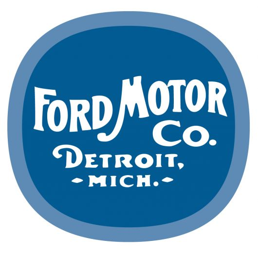 ford moto co classic badge