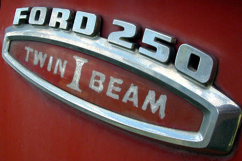 ford 250 twin i beam