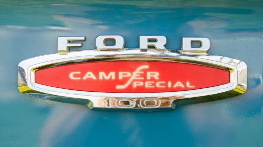 ford camper special 100 emblem flickr r gust smith
