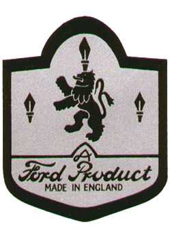ford product made in emgland