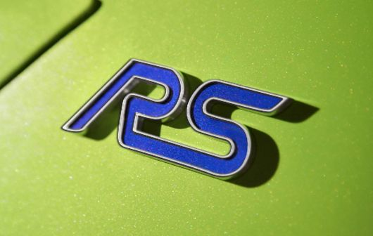 rs emblem ford focus 09