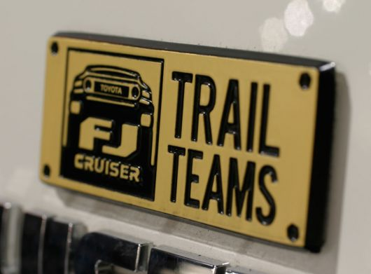 fj cruiser trail teams emblem toyota s 2
