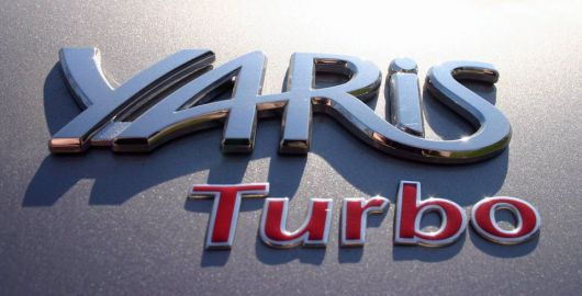 yaris turbo emblem