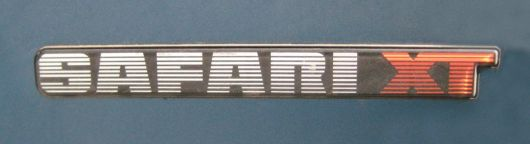 safari xt emblem gmc s