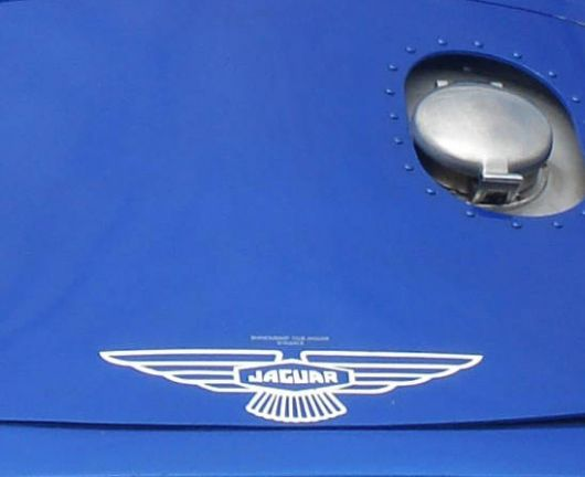 jaguar hood old emblem 8