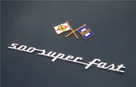 500 superfast emblem