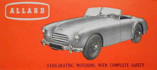 allard k3 touring brochure cover 52 54