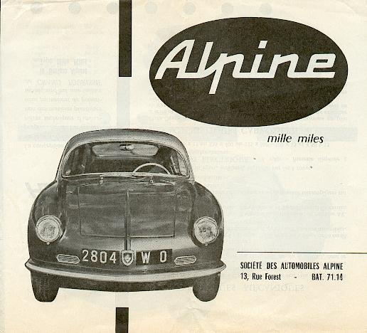alpine mille miles catalog cover56