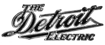 the detroit electric logo