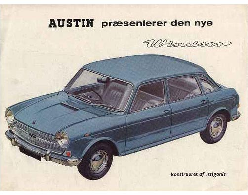 austin 1800 windsor brochure