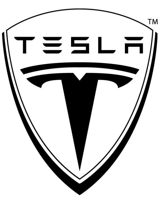 tesla shield logo