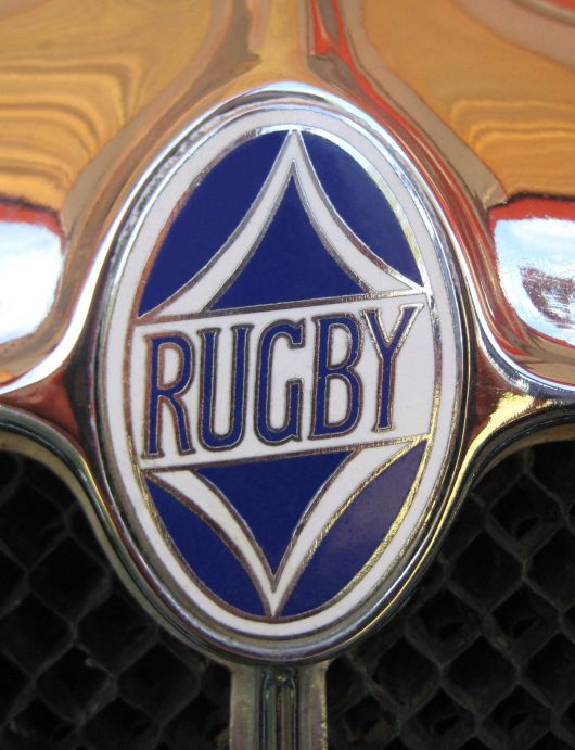 rugby front grill emblem 28