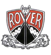 rover red black logo