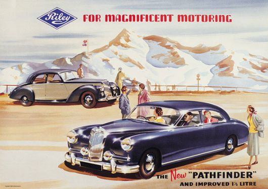 riley pathfinder poster