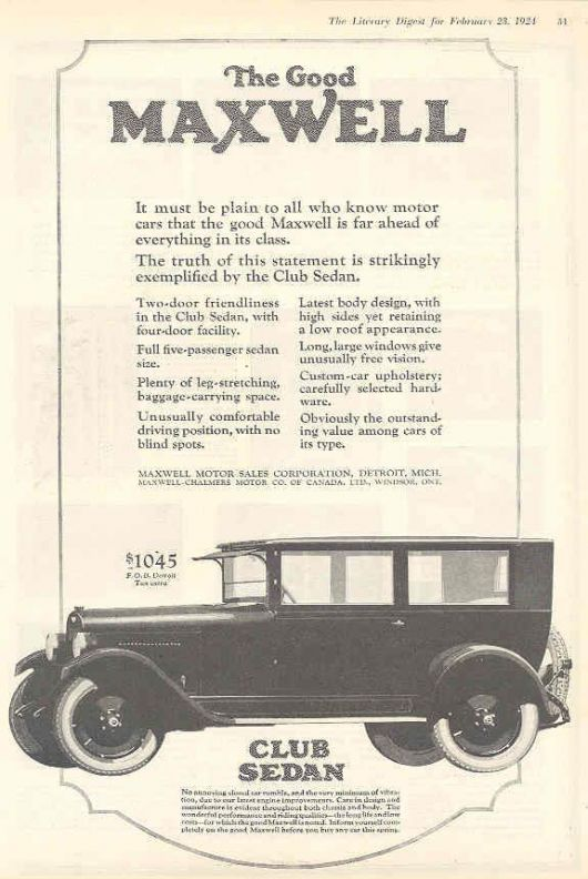 maxwell club sedan ad 24