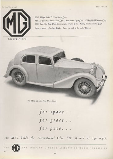 mg 1.5 litre saloon 37